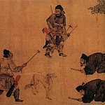 Chinese artists of the Middle Ages - Yan Liben [阎立本 - 锁谏图]