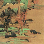 Chinese artists of the Middle Ages - Liu Du [刘度 - 白云红树图]
