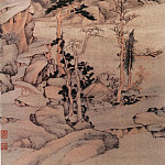 Chinese artists of the Middle Ages - Dai Benxiao [戴本孝 - 烟波杏霭图]