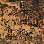 Chinese artists of the Middle Ages - Zhang Zhaiduan [张择端 - 清明上河图(部分)]
