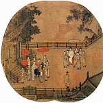 Chinese artists of the Middle Ages - Unknown [佚名 - 杨贵妃上马图]