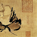 Chinese artists of the Middle Ages - Shi Ke [石恪 - 二祖调心图]