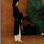 Chinese artists of the Middle Ages - Zhao Ji [赵佶 - 听琴图]