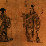 Chinese artists of the Middle Ages - Gu Kai [顾恺之 - 列女图]