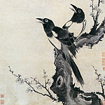 Chinese artists of the Middle Ages - Chen Shu [陈书 - 梅鹊图]