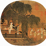 Chinese artists of the Middle Ages - Chen Qingbo [陈清波 - 瑶台步月图]