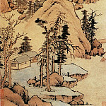Chinese artists of the Middle Ages - Lin Zou's [邹之麟 - 山水图]