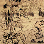 Chinese artists of the Middle Ages - Qian Du [钱杜 - 人物山水图]