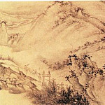Chinese artists of the Middle Ages - Wu Hong [吴宏 - 秋山行旅图(部分)]