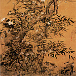Chinese artists of the Middle Ages - Cui Mao [崔锚 - 百雀图]