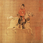 Chinese artists of the Middle Ages - Li Zanhua [李赞华 - 东丹王出行图]