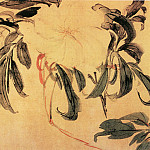 Chinese artists of the Middle Ages - Li Chan [李蝉 - 花卉图]