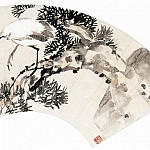 Chinese artists of the Middle Ages - Wang Zhen [王震 - 松鹤延年图]