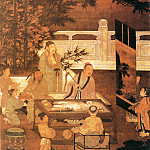 Chinese artists of the Middle Ages - Unknown [佚名 - 十八学士图]
