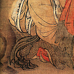 Chinese artists of the Middle Ages - Zhang Sigong [张思恭 - 猴侍水星神图]