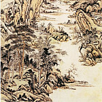 Chinese artists of the Middle Ages - Wang Yu [王昱 - 南山积翠图]