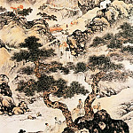 Chinese artists of the Middle Ages - Liu Yanchong [刘彦冲 - 山水图]
