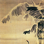 Chinese artists of the Middle Ages - Yuan Yao [袁耀 - 雪蕉双鹤图]