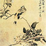 Chinese artists of the Middle Ages - Yan Yue [颜岳 - 花鸟图(之二、三)]