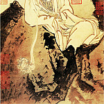 Chinese artists of the Middle Ages - Jia Shigu [贾师古 - 大士像]