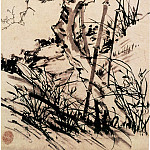 Chinese artists of the Middle Ages - Li Chan [李蝉 - 梅兰竹图]