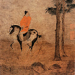 Chinese artists of the Middle Ages - Zhao Yong [赵雍 - 挟弹游骑图]