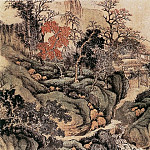 Chinese artists of the Middle Ages - Wu Li [吴历 - 秋景山水图]