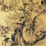 Chinese artists of the Middle Ages - Shao Mi [邵弥 - 高松远涧图]