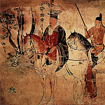 Chinese artists of the Middle Ages - Unknown [佚名 - 骑马人物图]
