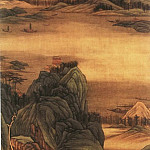 Chinese artists of the Middle Ages - Gao Cen [高岑 - 青绿山水图]