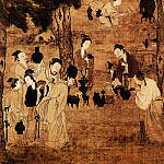Chinese artists of the Middle Ages - Liu Songnian [刘松年 - 博古图]