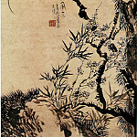 Chinese artists of the Middle Ages - Wang Shishen [汪士慎 - 春风三友图]