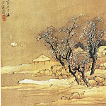 Chinese artists of the Middle Ages - Liu Du [刘度 - 山水图(一,二)]
