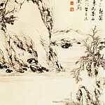 Chinese artists of the Middle Ages - Zheng Wen [郑蚊 - 越溪采薪图]