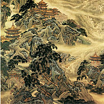 Chinese artists of the Middle Ages - Yuan Yao [袁耀 - 蓬莱仙境图]