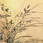 Chinese artists of the Middle Ages - Wen Zhengming [文徵明 - 兰竹图]