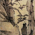 Chinese artists of the Middle Ages - Hongin [弘仁 - 黄海松石图]