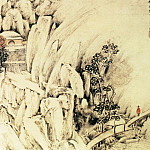 Chinese artists of the Middle Ages - Ye Xin [叶欣 - 山水图(之三、四)]
