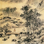 Chinese artists of the Middle Ages - Xu Gu [虚谷 - 小桥流水图]