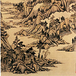 Chinese artists of the Middle Ages - Tang Dai [唐岱 - 晴峦春霭图]
