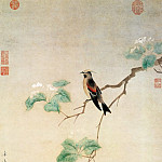 Chinese artists of the Middle Ages - Wen Jiao [文椒 - 花鸟图]