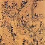 Chinese artists of the Middle Ages - Lan Meng [蓝孟 - 秋林逸居图]