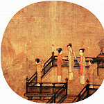 Chinese artists of the Middle Ages - Unknown [佚名 - 荷亭儿戏图]