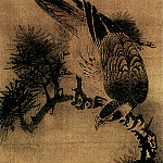 Chinese artists of the Middle Ages - Fang Ji [方济 - 松鹰图]