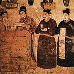 Chinese artists of the Middle Ages - Unknown [佚名 - 男女侍图]