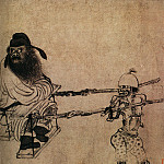 Chinese artists of the Middle Ages - Gong Kai [龚开 - 中山出游图]