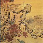 Chinese artists of the Middle Ages - Yan Yi [颜峄 - 秋林舒啸图]