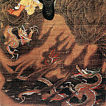 Chinese artists of the Middle Ages - Lu Xinzhong [陆信忠 - 十六罗汉·降龙]