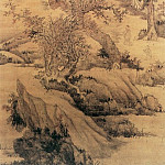 Chinese artists of the Middle Ages - Lan Ying [蓝瑛 - 溪山曳杖图]