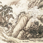 Chinese artists of the Middle Ages - Wang Yun [王晕 - 云山竞秀图]